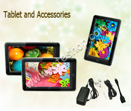 Picture of Tablet and Accessories